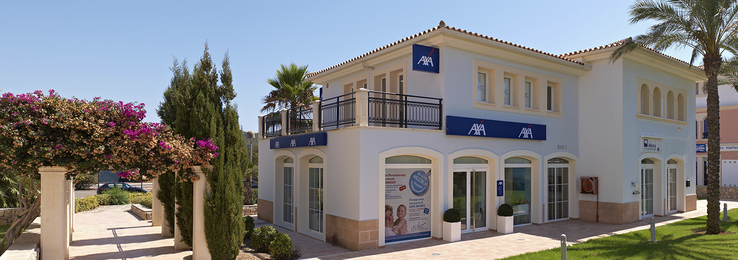 Your AXA Agency <br>in Mallorca - Anke Sevenster